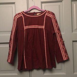 Peek embroidered shirt